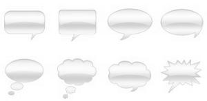 Gray_Communication_Bubbles